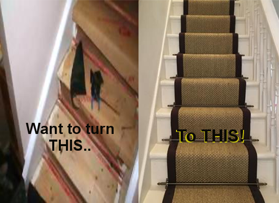 STAIR RUNNERS MADE EASY
