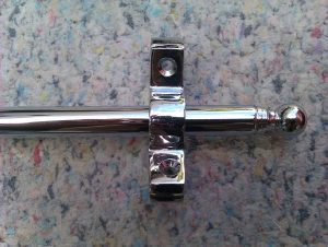 chrome stair rod