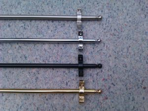 different stair rod to choose from