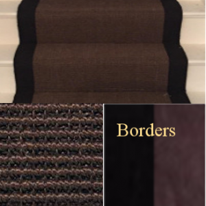 STAIR RUNNER SISAL CHOCOLATE