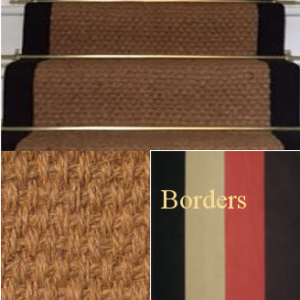 STAIR RUNNER COIR PANAMA NATURAL