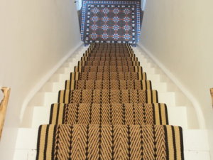 HERRINGBONE TWILL STAIR RUNNER ON STAIR RUNNER REVIEWS