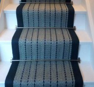 Herringbone Navy blue border (4)