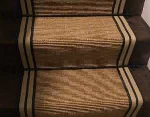 Sisal Gold striped (close up) (2)