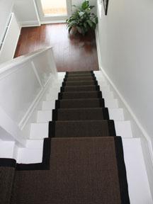 Stair Runner Sisal Chocolate 7.5mx55cm