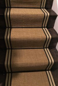 Sisal Striped Border