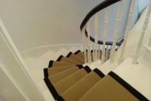How To Fit Stair Runners To Winding Stairs Wholesale Carpets