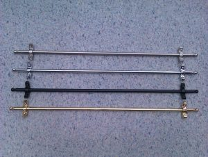 four different kinds of stair rods