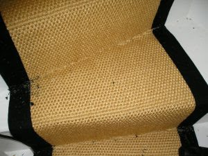 How to fit stair runners