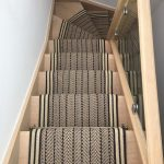 Winders are equal width to the stair runner