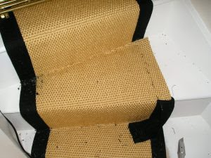 how to fit a stair runners in a winding stairs