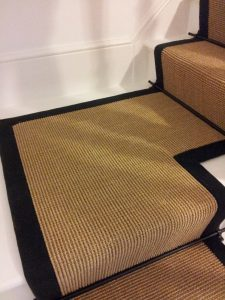 stairrunners fitting-coir bleached