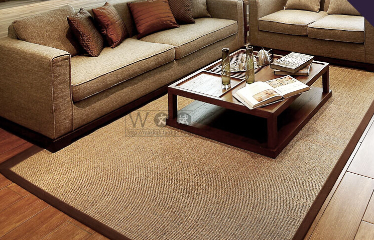 seagrass rug sale piece