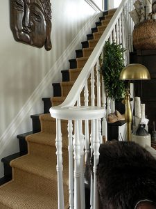 sisal stair runner designer layout