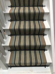 Seaspray 7.5m x 65cm Stone border monthly clearance stair runner sale