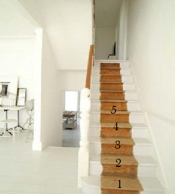 staircase preaparation